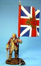 JOHN JENKINS BATTLE OF MONONGAHELA BM11 OFFICER WITH KINGS COLOURS 1 FIG