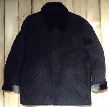 Giorgio Valentino Black Sheepskin Jacket. Size L. Ref GVJ