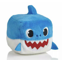 WowWee Pingfong Baby Shark Official Song Cube - Blue Baby Shark Stuffed Plush
