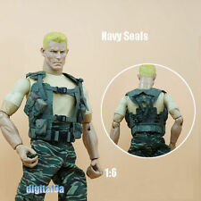 """1/6 Scale Soldier Accessories SEALs Waistcoat Green Vest For 12"""" Action Figure"""