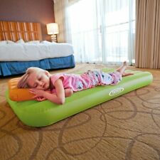 Child Airbed Inflatable Mattress Soft Cozy Air Bed Pillow  Up to 100 Pounds! NEW