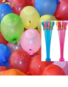 111pcs Water Balloons Self Sealing Easy Quick Fill for Party