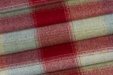 1.15m  Laura Ashley 'Keswick' 100% Wool in Cranberry