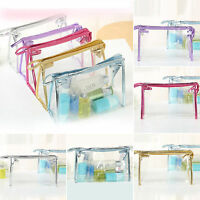 Waterproof Cosmetic Makeup Bags Women Toiletry Clear Case Travel Clear Wash Bag