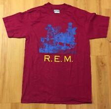 1986 R.E.M. vintage concert tour t-shirt Sz: M  REM Grunge Alt-Rock Deadstock