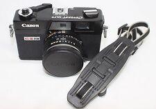Very good Canon Canonet QL17 GIII G-III 35mm Rangefinder Film Camera Black