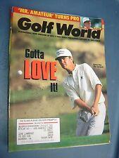 October 29, 1993 old vintage Golf World magazine