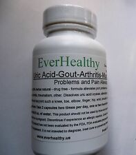 EverHealthy 100% herbal natural pain relief Joint Muscle & lower Uric Acid, Gout