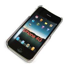 Cover für Apple iPhone 4 4S 4G Hardcover Case Transparent Schale durchsichtig