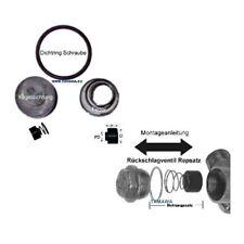 Reparatur / Dichtsatz für Rückschlagventile mit Ø 15mm verschiedener Hersteller