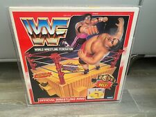 WWF hasbro King Of The Ring Acrylic Case (Play Set Not Included)