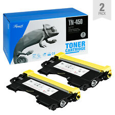 Toner Cartridge Replacement (2-Pack) for Brother TN-450/420 5200 Pg Yield, Black