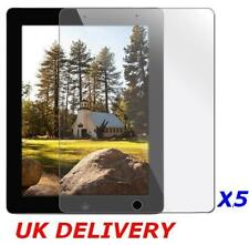 5X Apple iPad 2 3 4 4th Clear Screen Protector Guard Cover Film * NOT GLASS
