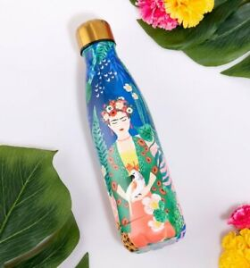 Official Frida Kahlo Tropical Metal Water Bottle from House Of Disaster