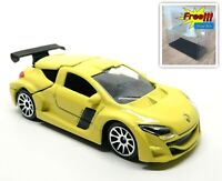 Majorette Renault Megane Trophy Yellow - Wheel 10S - 1:64 222D no Package