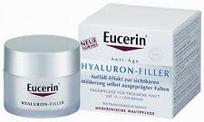 EUCERIN HYALURON FILLER Anti Age Tagescreme für tockene Haut 50ml PZN 07608420