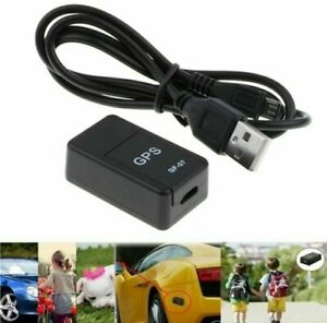 Mini GPS Tracker Locator Satellite Light Ant-Itheft Magnet - Car Motorbike