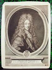 Portrait de Jacques de Tourreil par EDELINCK, Antoine BENOIT  Académie française