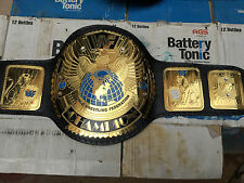 Leathers Belt Big Eagle WWF world Heavyweight Championship Belt