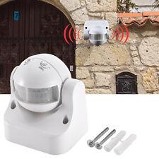 Outdoor waterproof  220V Light Lamp IR Security Motion Detector Sensor Switch