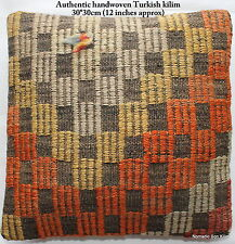 (30*30cm, 12INCH) Turkish handwoven kilim cushion cover brocaded warm boxes