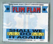 Flim Flam cd-maxi SHALL WE DO IT AGAIN DMC Remix W.Germany 3-tr Limited Edition