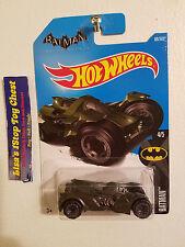 Hot Wheels 2017 Batan Arkham Knight Batmobile Green 88/365 B10