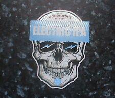 WOODFORDE'S ELECTRIC IPA BEER PUMP CLIP SIGN