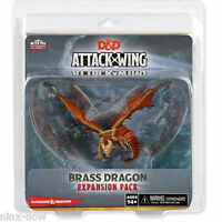 D&D Brass Dragon Miniature Attack Wing Expansion Pack Painted Plastic Wizkids