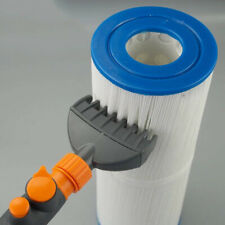 Filter Jet Cleaner Pool Hot Tub Spa Water Wand Cartridge Handheld Cleaning Brush