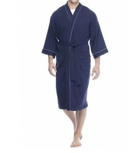 Saddlebred® Robe Big & Tall Nailhead Waffle Weave