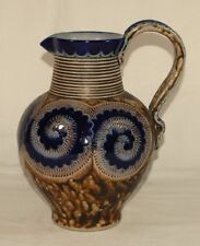 R. Merkelbach Keramik Krug Nr. 620 2,8 L Höhr Grenzhausen grau braun blau Kanne