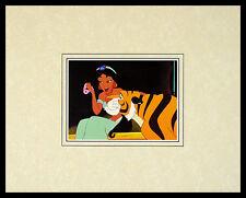 Walt Disney Aladdin Rajah was Just Playing with Him Poster Kunstdruck und Rahmen