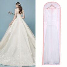 Zipped Full Length Garment Protection Covers Suit Long Dress Bag Dustproof 180cm