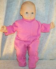 """Doll Clothes Baby Made 2 Fit American Girl 15"""" inch Bitty Pajamas Rose Pink"""