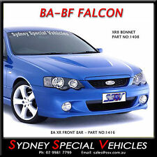 STEEL BA XR8 FPV GT STYLE BONNET FOR BA-BF FALCON SEDANS UTES & WAGONS NEW