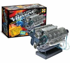 Build Your Own V8 Combustion Petrol Engine Kit Model Birthday Gift Present HM10