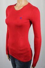 Ralph Lauren Red Long Sleeve Knit Top Shirt Crewneck NWT