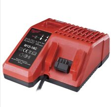 Milwaukee M12-18FC 240v UK 18v & 12v Li-ion Rapid Charger M12-18C