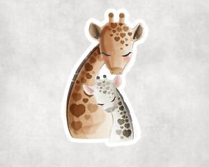 "6"" Giraffe Cute Nursery Sticker Car Bike Wall Stickers Decoration Vinyl"