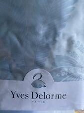YVES DELORME Palmes Duvet Cover/ Blue SuperKing International Ship