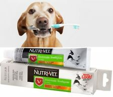 DOG TOOTHPASTE Canine Pet Dental Teeth Care Enzymatic Chicken Flavored 2.5 Oz