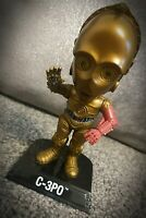 Retro Star Wars C-3PO Funko Bobble Head knocker R2D2 Lucasfilm POP