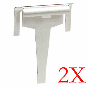2X Fridge Freezer Door Drain Clip For Samsung SRF527DSIST SRF752DSS SRF579DLS