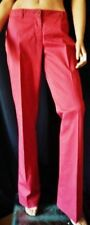 ***MIU MIU PANTALONE Trousers TG.38 (42) in Cotone tonalità rosso-bordeaux