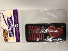 Paula Abdul New 1991 Spellbound Emblem Sticker Winterland Voyager Heart Arrow