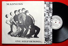 MADNESS ONE STEP BEYOND W/INNER/SHRINK WRAP 1980 SKA RARE ITALIAN LP N/MINT