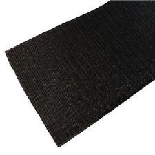 50mm Wide Hook Tape Black Self Adhesive Craft DIY Long Fabric Pedalboard Loop 1