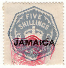 (I.B) Jamaica Revenue : Duty Stamp 5/-