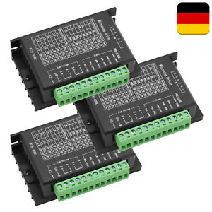 3x TB6600 Digital Stepper Motor Driver 2-Phase 4A for 57 86 Stepping Motor